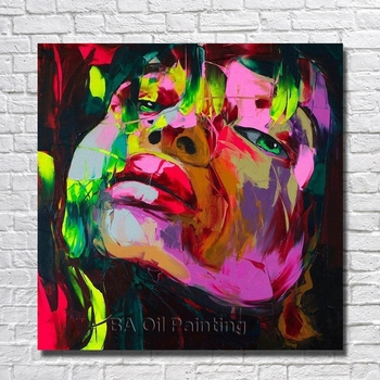 High Quality Handpainted New Women Portrait Oil Painting On Canvas Paintings Wall Art Home Decoration Wall Pictures No Framed