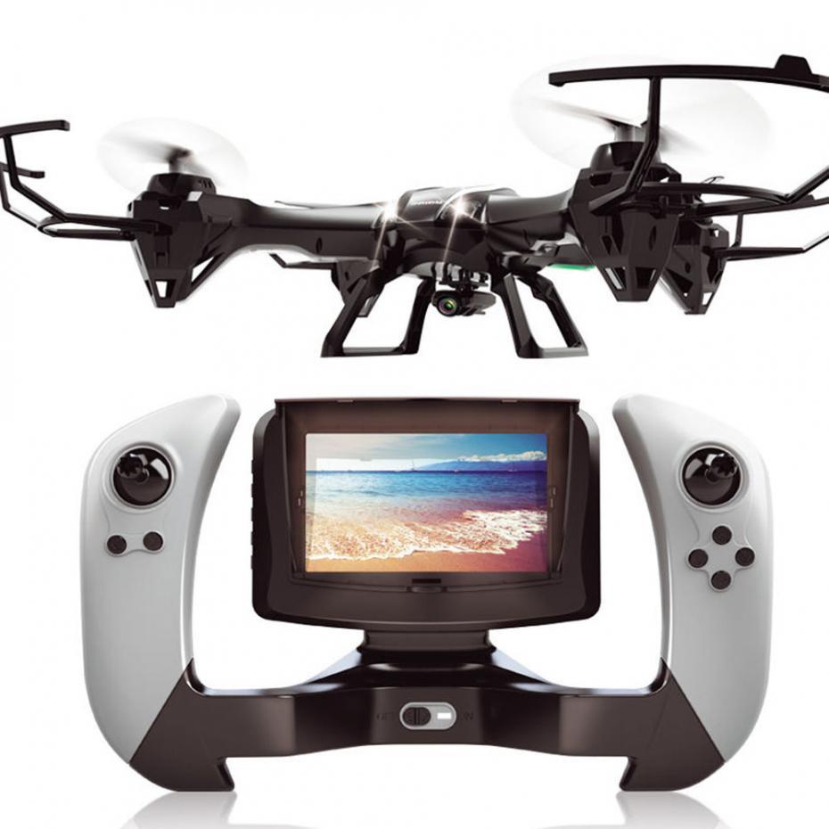 Professional RC вертолет Квадрокоптер U818S RC Дрон 2,4 г 4CH 6 Aixs FPV в режиме реального времени передача с 5,0 МП HD камера VS X8W