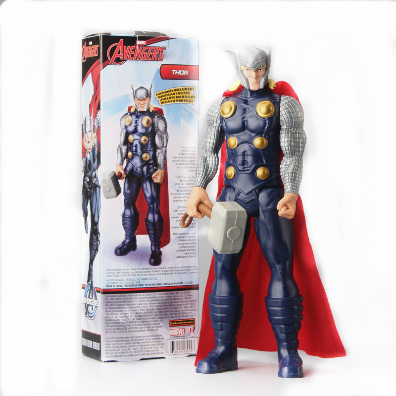 Marvel Action Figure Toy Ultimate Thor X-men Super Hero PVC Collectible Titan Hero Series With Box Doll Gift 1230CM цена