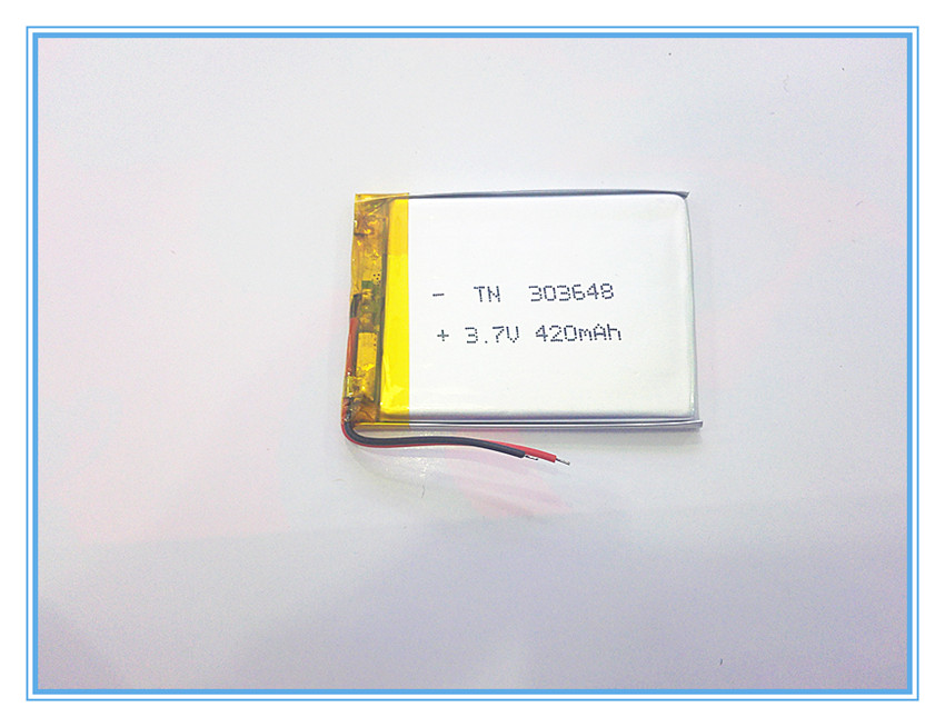 все цены на 3.7V,420mAH,[303648] PLIB; polymer lithium ion / Li-ion battery for dvr,GPS,mp3,mp4,cell phone,speaker онлайн