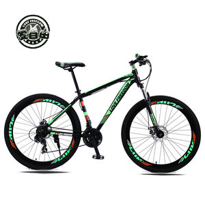 Image 2 - Love Freedom 21/24 Speed Aluminum Alloy Bicycle  29 Inch Mountain Bike Variable Speed Dual Disc Brakes Bike Free Deliver