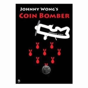 Coin Bomber magique (Version demi-dollar réel) tourner à 12 pcs, tours de Magie pièces apparaissant/disparaître Magie, gros plan, Illusion, amusement