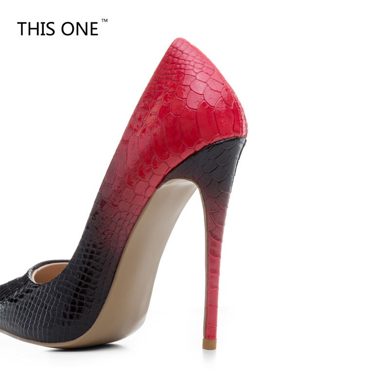 Black Red Patent Leather Sole Bottom Thin High Heels Women Pumps Pointed  Toe Wedding Shoes Woman Stilettos Ladies Zapatos Mujer-in Women s Pumps  from Shoes ... 5d0d0301a09a