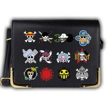 One Piece Skull Printed Handbag