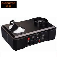 1500W DMX LED Fog Machine Pyro Vertical Smoke Machine/Professional Fogger For Stage Equipment DMX 512 Wireless Control 24*9W RGB