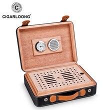 CIGARLOONG Cigar Box Moisturizing Cedar Hood Cabinet CA-0409