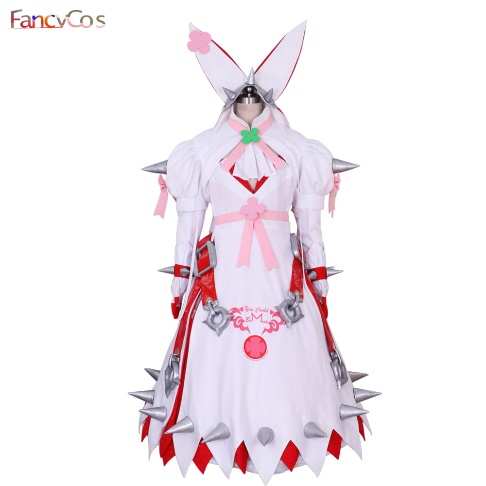 Halloween New Guilty Gear Xrd-SIGN elphelt Cosplay Costume  Party Dress Adult High Quality Deluxe High Quality Custom Made