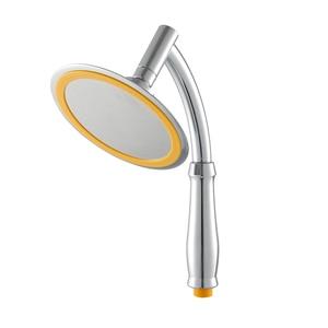 Image 3 - EVERSO luksusowe deszczownica głowy 6 Cal Handheld zestaw anionów pod wysokim ciśnieniem łazienka opady deszczu gadżety oszczędzania wody Showerhead