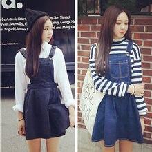 23e078ec8b New Retro Women s Denim Dresses Sleeveless Spaghetti Strap Black blue  Cowboys Jeans Dress Sweet High