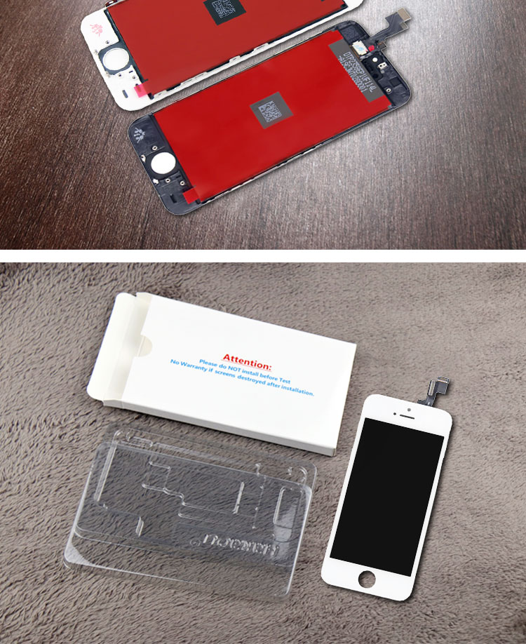 HTB1I1YkSZfpK1RjSZFOq6y6nFXak The Cheapest Price Ecran Display For Pantalla iPhone 5S 5C 5 se LCD Touch Screen Digitizer Assembly With Gifts by Free Shipping