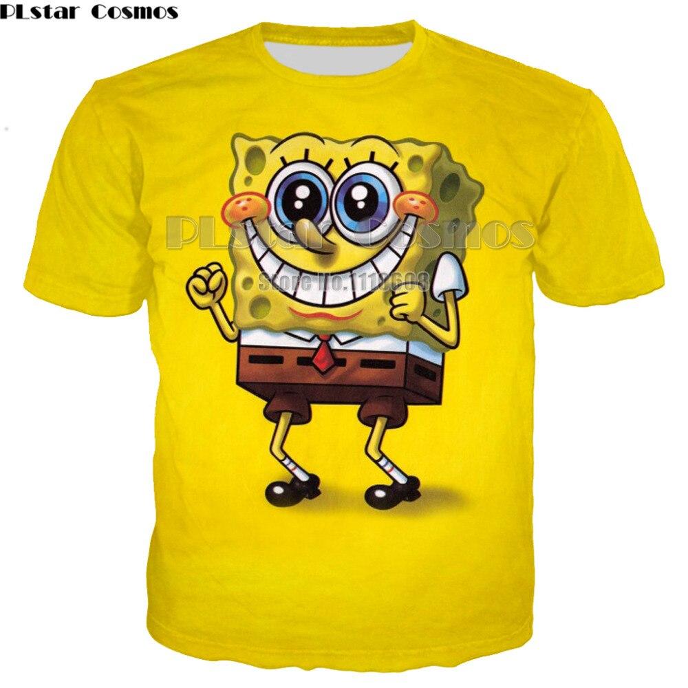 PLstar Cosmos fashion Short Sleeves T-Shirts For Boys Girls cute cartoon T Shirt classical  tee women men Tops