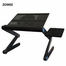 Regulowany przenośna podstawka/stolik pod laptopa okrążenie Sofa łóżeczko laptopa biurko blat stołu z myszy stół ZW CD10