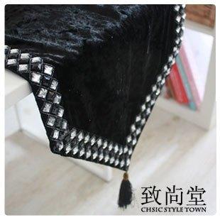 Tischläufer Schwarz Weiß schwarz luxus tischläufer arbeiten kurze moderne tischläufer schwarz
