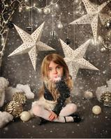 Kate Photographic Background Christmas Vinyl Stars Children Photography Backdrops For Photo Studio Send Rolled