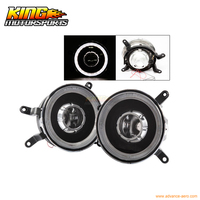 Fit For 2005 2009 Ford Mustang Fog Lights Lamps Black One Set Left+Right USA Domestic Free Shipping