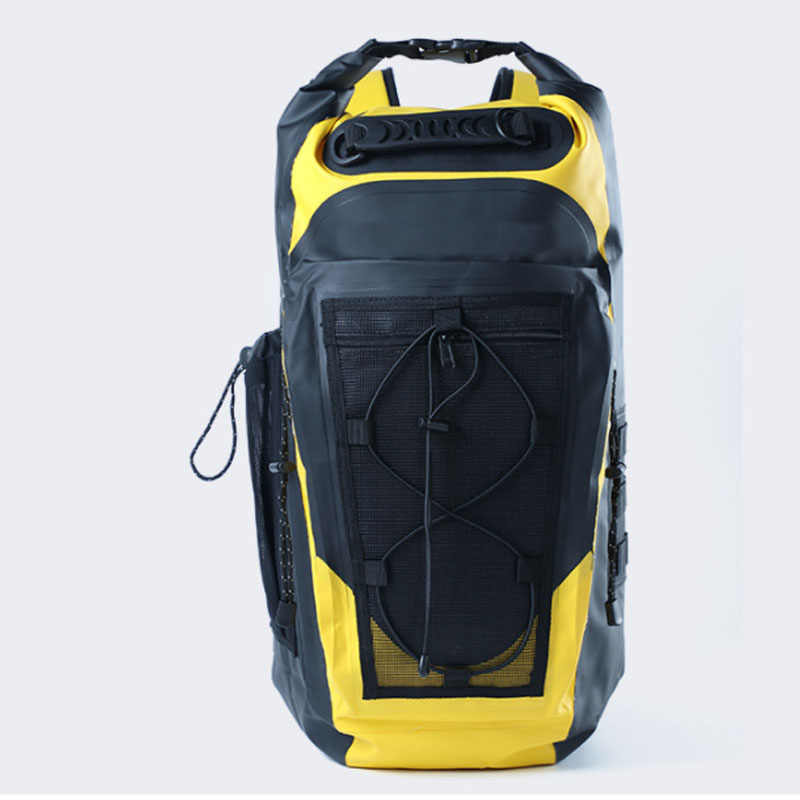con correa de transporte acolchada mochila de bicicleta pesca mochila de mensajer/ía mochila con bolsa seca para deportes acu/áticos trekking snowboarding Mochila impermeable 30L Roll Top