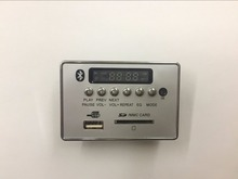 Universal Portable LED 12V Car Travel MP3 Player Bluetooth Decoder Board Remote Control RC FM Radio USB SD AUX Set High Qualit