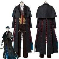 Fate Grand Order Cosplay Costume Sherlock Holmes Cosplay Costume Halloween Costume For Adult Men Women