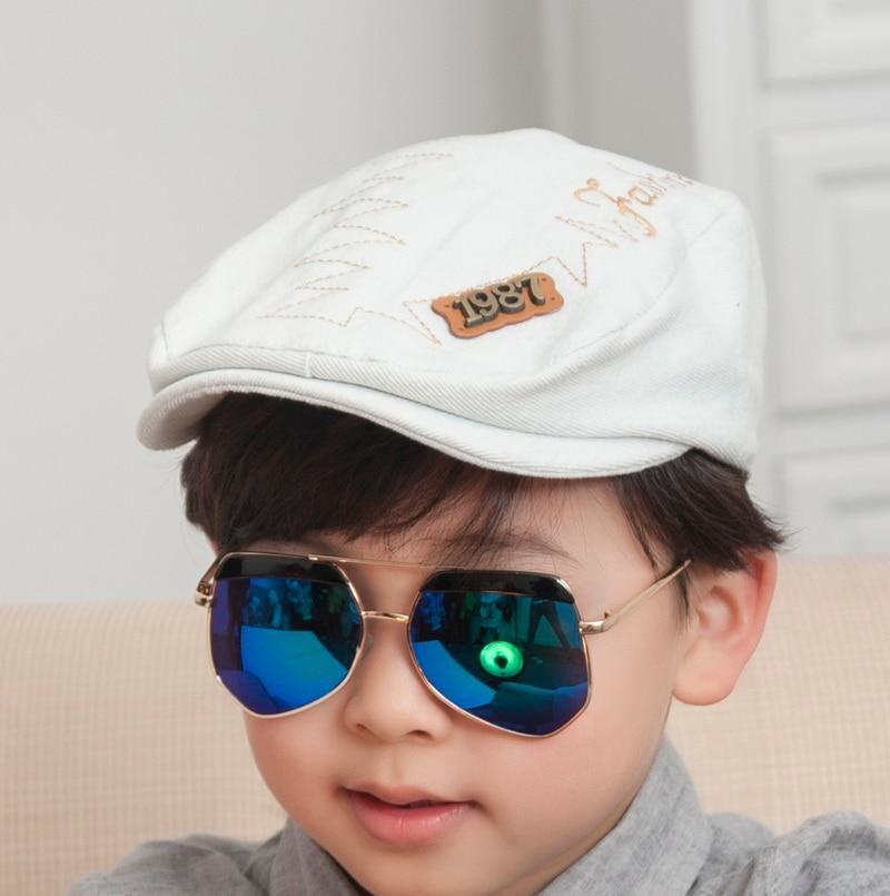 promotion cheap children hip hop snapback best qaulity denim style solid color cool boy girl brand baseball cap kids casquette