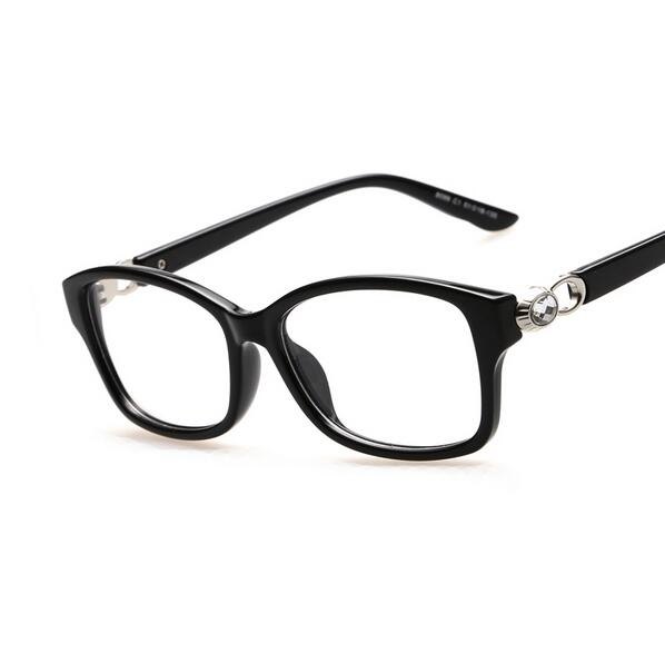 2017 lunettes de vue vintage crystal connection women men optical glasses eyeglasses myopic elegant frame nearsight
