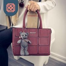 Fashion Women Bags Designer Handbag Tote crossbody bag bear decoration