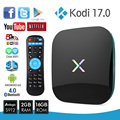 X-Плеер для Android 6.0 TV Box Amlogic S912 2 ГБ 16 ГБ 4 К Smart TV Box Окта Ядро Двойной Гигабитный Wi-Fi HDMI BT 4.0 17.0 Media Player