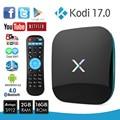 X-S912 Reproductor de Android 6.0 TV Box Amlogic 2 GB 16 GB 4 K Smart TV Box Octa Core Dual WiFi Gigabit HDMI BT 4.0 17.0 Reproductor Multimedia