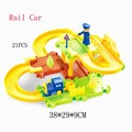 Toy Cars Thomas Train New Product 23pcs/set Children 3D Intelligence Electric Track Building Blocks Electric Train