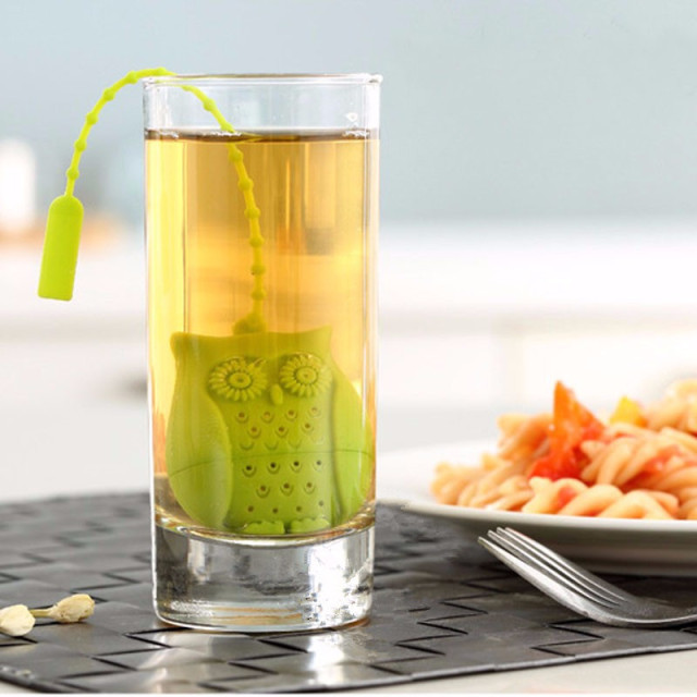 High Quality Cute Owl Tea Strainer cool kitchen stuff