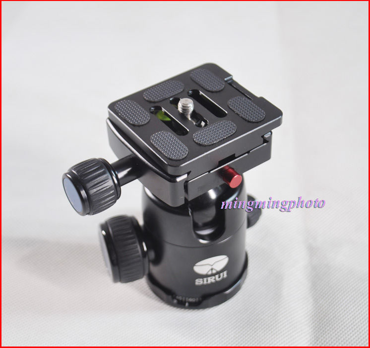 Universal Quick Release Plate 1/4 Replace for Sirui TY-50X G KX Tripod Ball Head