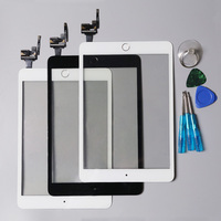 For IPad Mini 3 High Quality Black Touch Screen Digitizer Assembly With Home Button Home Flex