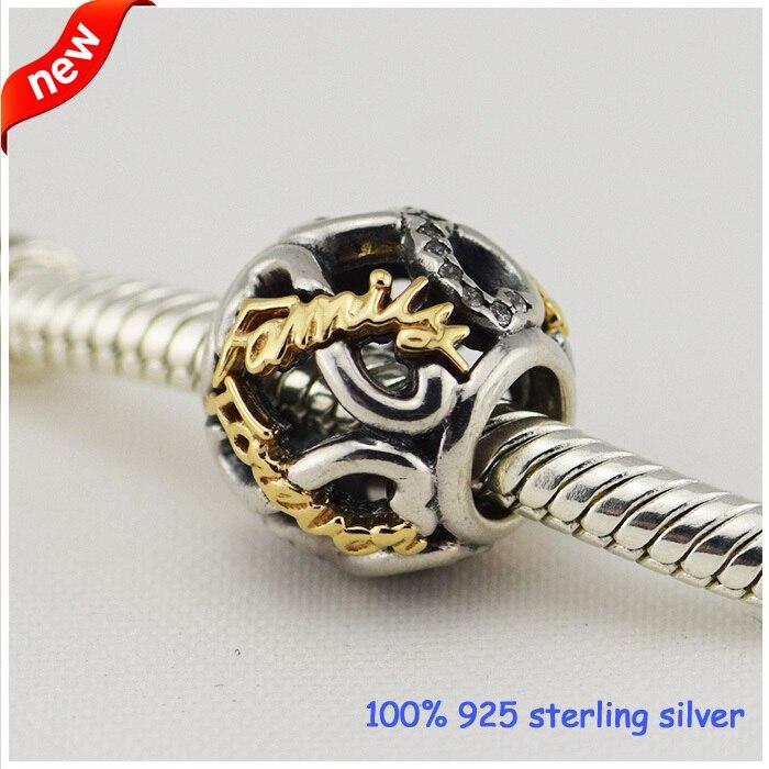 Convient aux Bracelets Pandora ajouré infini perles en argent Style d'été 925 breloques en argent Sterling bricolage en gros