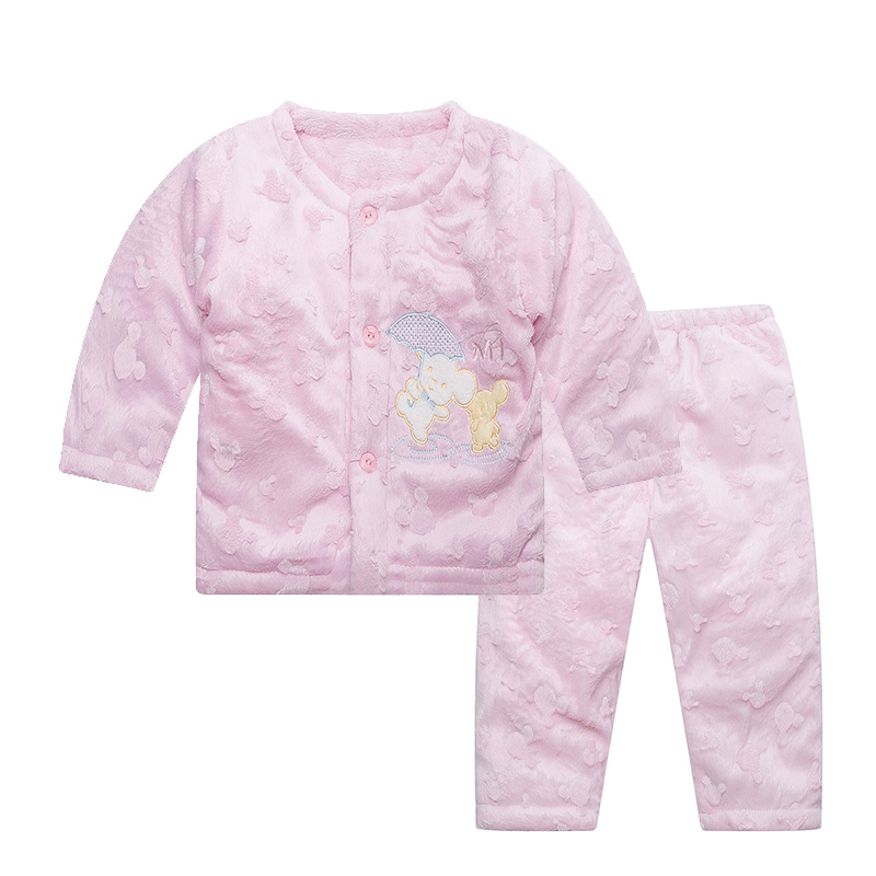 New Cartoon Bear Baby Girls Clothes Solid Soft Newborn Parkas Cute Button Baby Sets Baby Boys Clothing 2018 Autumn Winter 2016 winter new soft bottom solid color baby shoes for little boys and girls plus velvet warm baby toddler shoes free shipping