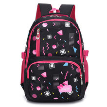 New Floral Printing Children School Bags Backpack For Teenage Girls Teenagers Trendy kids Book Bag Student Satchel mochilas(China)