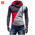 2016 Hoodies Men Sudaderas Hombre Hip Hop Mens Brand color matching Men Suit Slim Outwear Freeshipping Tracksuit