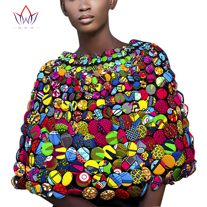 Здесь продается  BRW 2017 African Ankara Print Colorful Buttons Necklace Buttons Shawl African Ankara Necklace Handmade Tribal Jewelry WYX07  Ювелирные изделия и часы