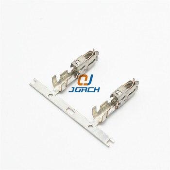 50 Adet Oto Araba Ekleri Tel 6.3 Büyük Sıkma Terminali Yalıtımlı Otomotiv Dişi Konnektör Pimleri 926965-1