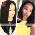 High Quality Bob Wig Natural Hairline Black Straight Short Bob Hair Synthetic Lace Front Wigs Heat Resistant Hair For Women