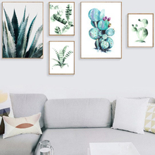 Tropical Plants Nordic Posters Art Canvas Painting Print Living Room Home Decor Modern Wall Art Painting Poster Pictures Artwork