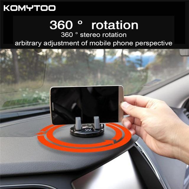 360 grad drehen auto handyhalter armaturenbrett kleben universal stehen halterung f r iphone. Black Bedroom Furniture Sets. Home Design Ideas