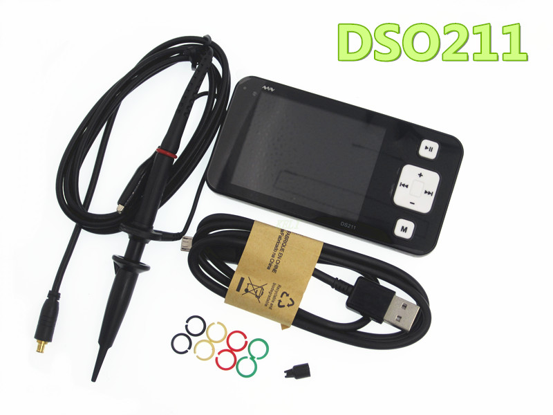 Mini ARM DSO211 Digital Oscilloscope Portable Pocket sized Nano Handheld Digital Storage Oscilloscope Diagnostic tool-in Replacement Parts & Accessories from Consumer Electronics    2