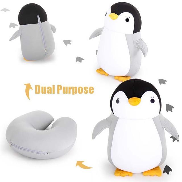 Penguin Shaped Pillow