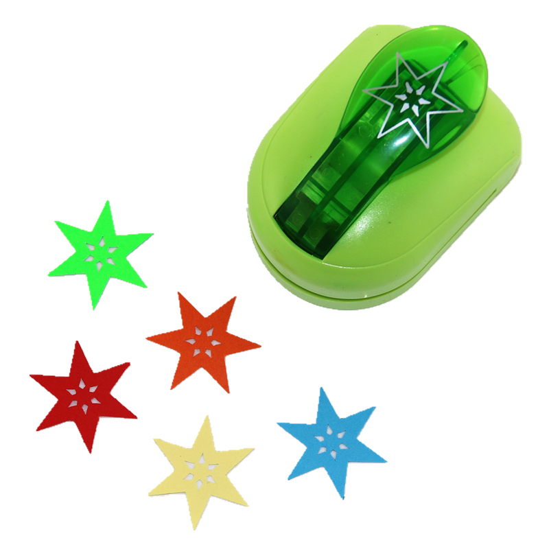 Jef Large Size Shaper Punch Star Craft Scrapbooking Paper Puncher DIY Tools 1pc  No-13