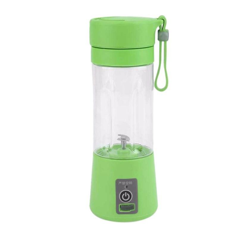 2018 chaud 4 couleurs 380 ml USB électrique Portable Smoothie Maker mélangeur Rechargeable Mini Portable jus Copa bouteille d'eau