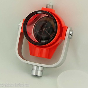 Single Prism with Bag for Total Station Red Colour Type  все цены