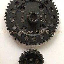 30 degreen N DTT 23T& 54T spur gear для Losi 5ive-t 1/5 rc автомобиль газ