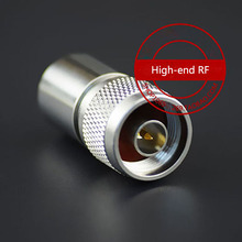 10pcs/lot NJ load 50 ohm load full copper high-end RF connector N male load 5W high frequency резистор kiwame 5w 150 ohm