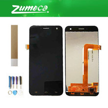 For Jinga Fresh LCD Display Screen +Touch Screen Digitizer Black Color With Tape&Tool(China)