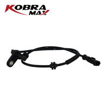 KobraMax  ABS Wheel Speed Sensor FOR RENAULT Clio Modus Hatchback 1.2-2.0L 2004- 8200195830 kobramax abs wheel speed sensor front left right for renault clio ii box symbol i 1 2 1 4 1 5 1 6 7700411747