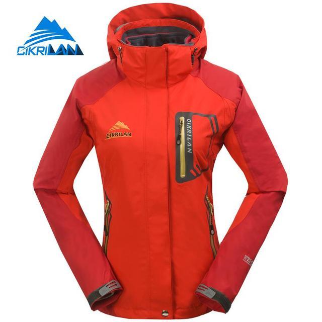 b27aaf65f5e224 2017 damen 3in1 Windjacke Wasserdichte Warme Outdoor Winterjacke Frauen  Sport Klettern Jaqueta Feminina Wandern Camping Mantel